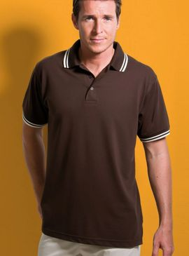 Kustom Kit Tipped Polo Shirt